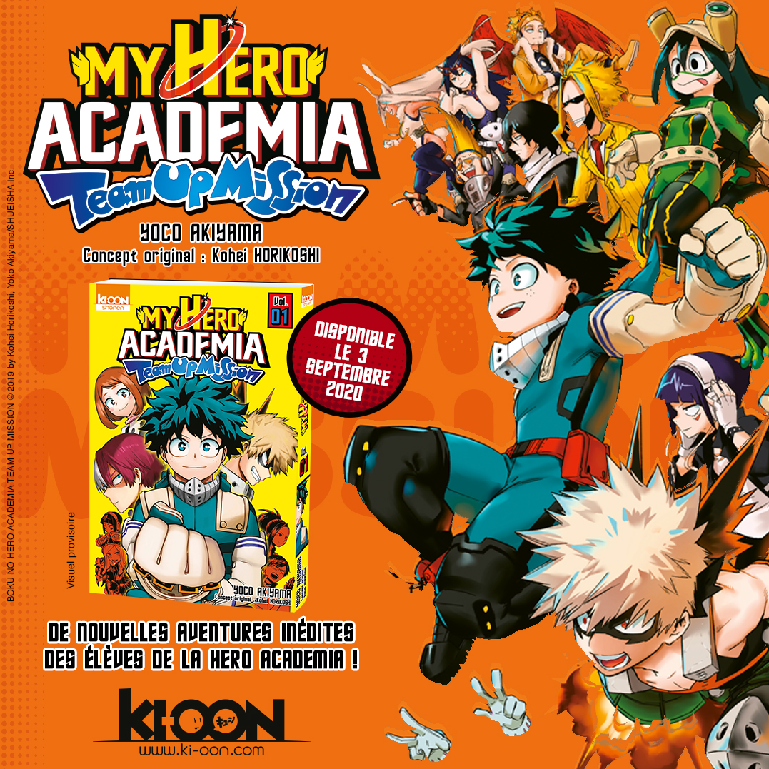 MHA Team Up Mission Annonce