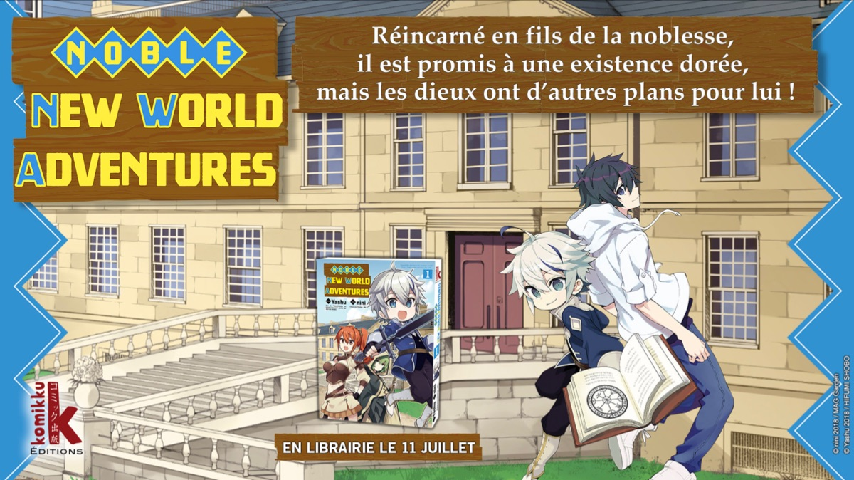 Noble New World Adventures Annonce