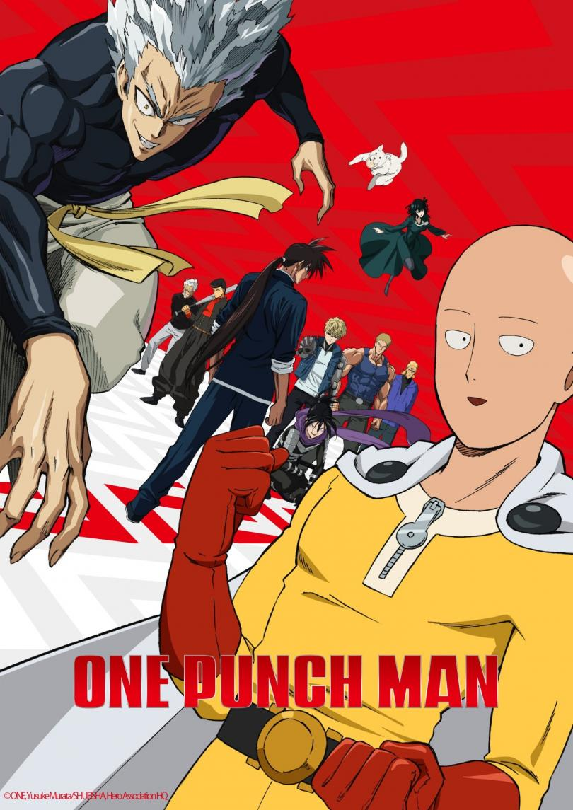 One Punch Man S2 Affiche