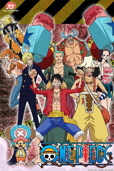 One Piece Anime Affiche