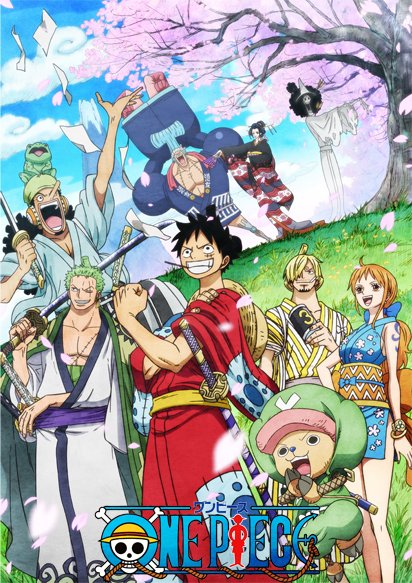 One Piece Wano Affiche