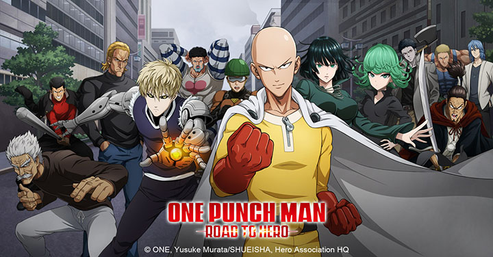 One Punch Man Road to Hero Affiche