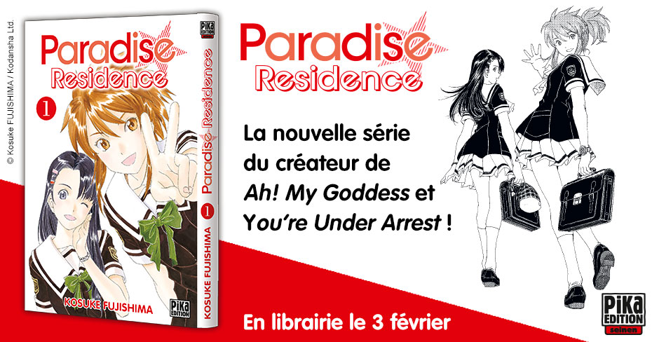 Paradise Residence Annonce