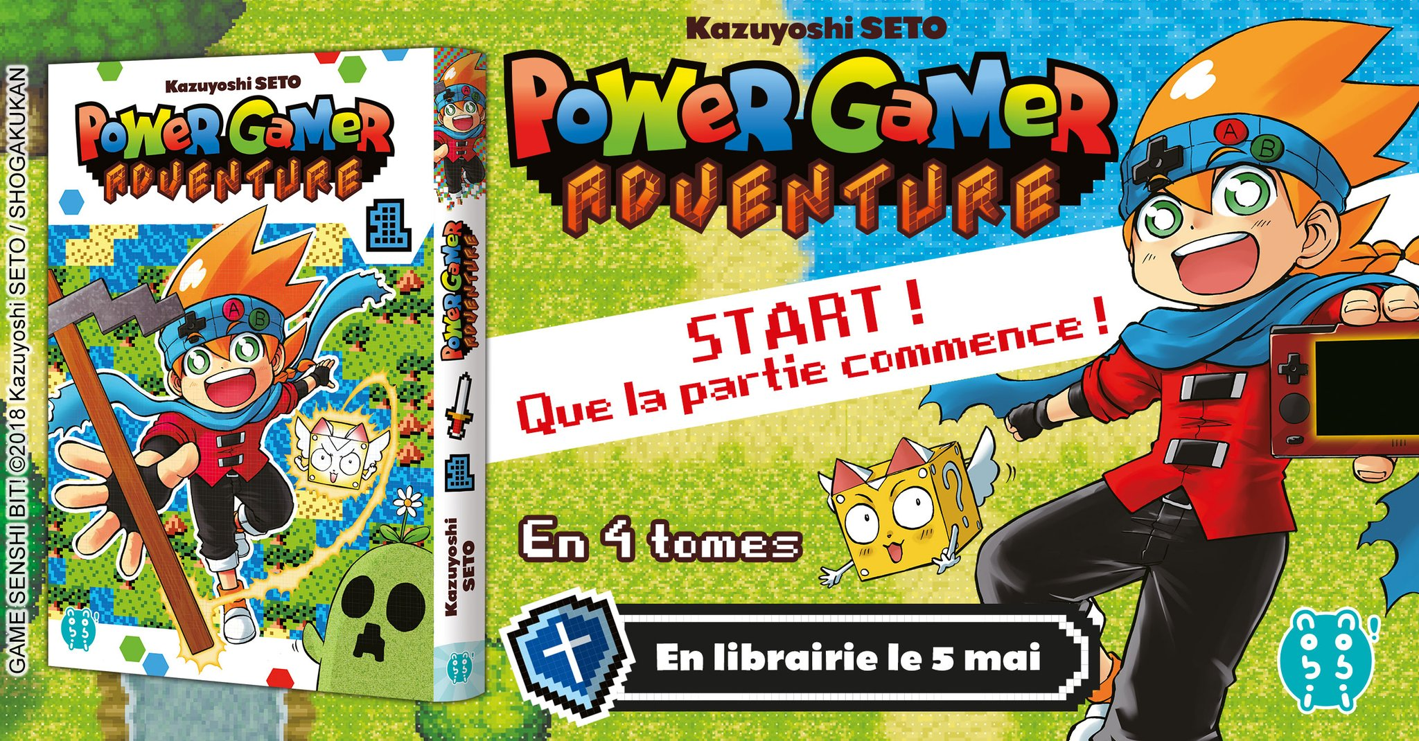 Power Gamer Adventure Annonce