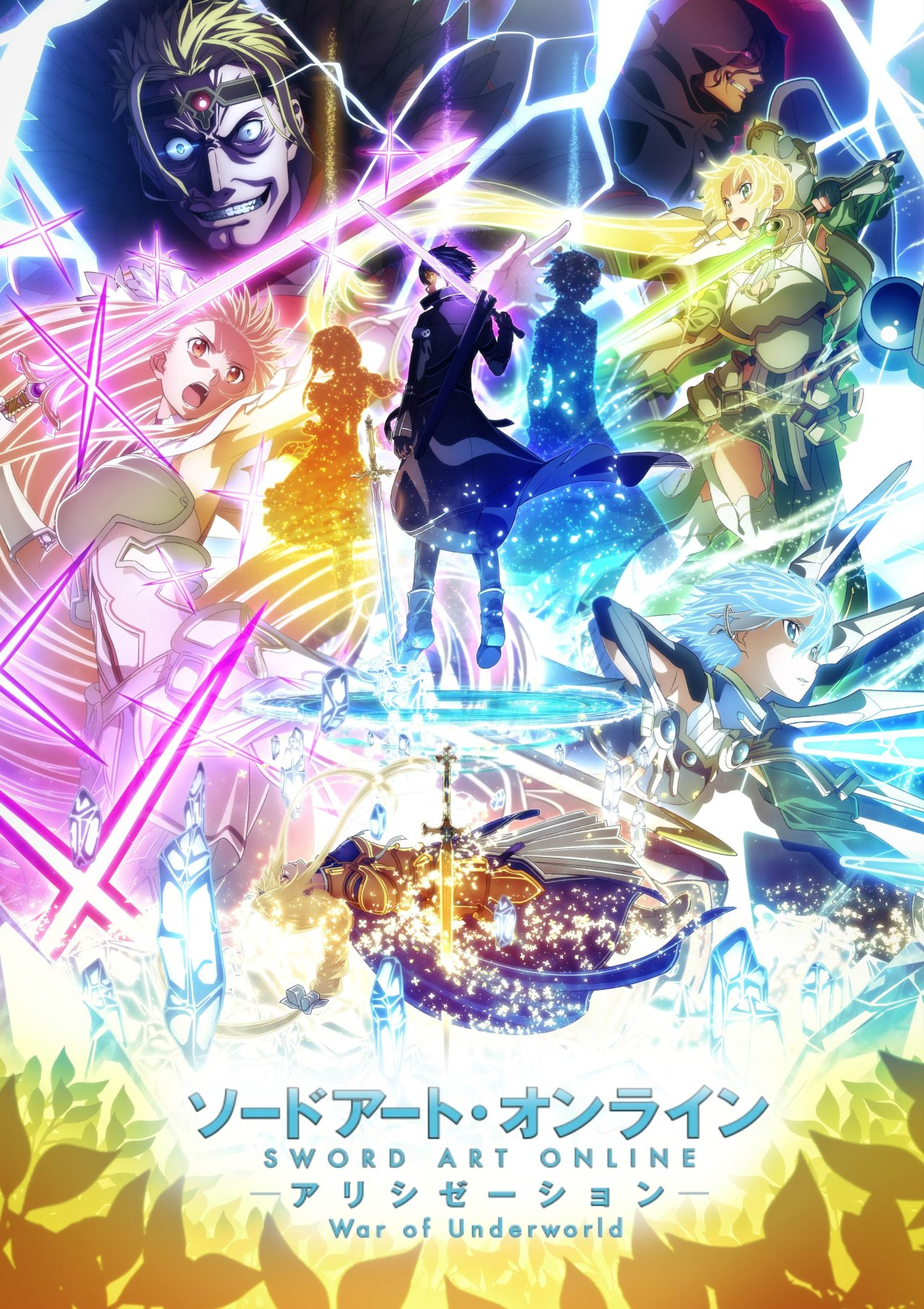 SAO Alicization War Of Underworld Affiche