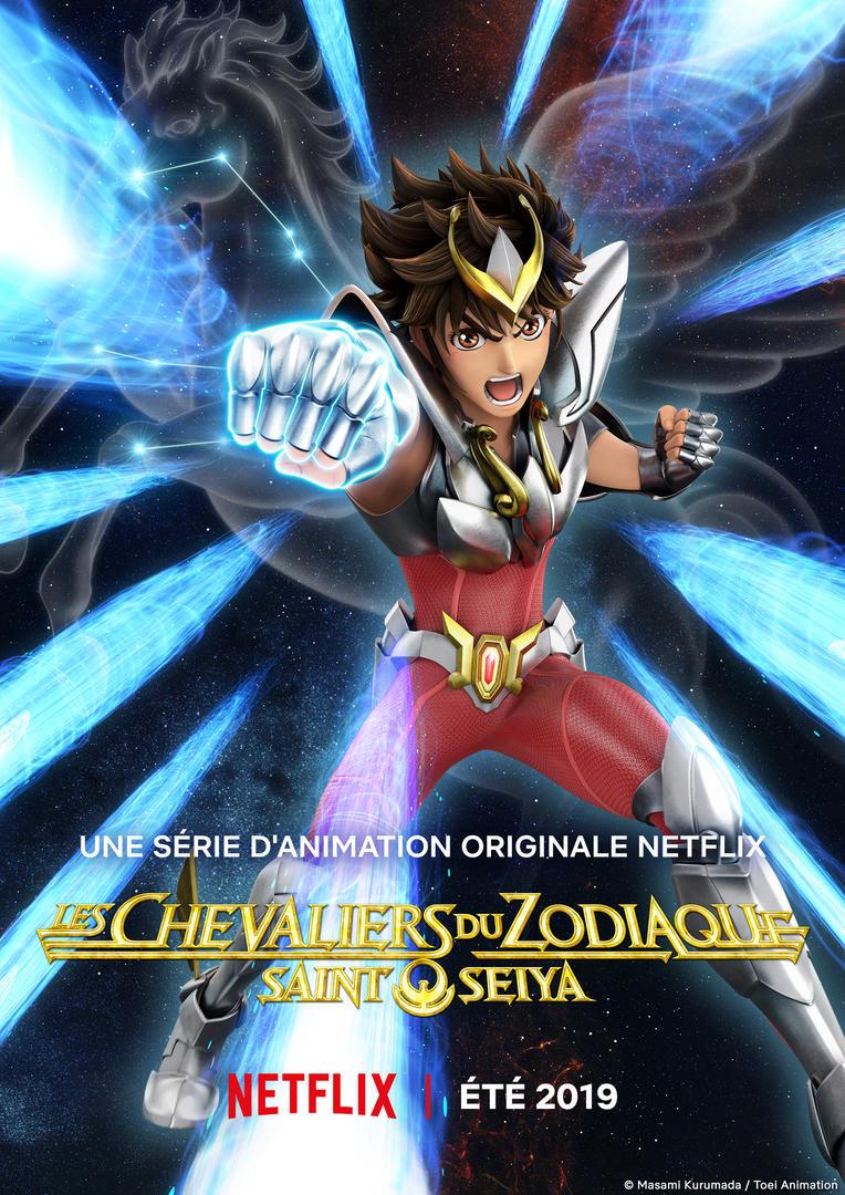 Saint Seiya Netflix Affiche