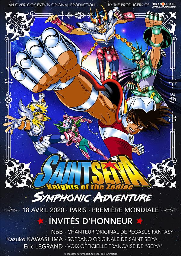 Saint Seiya Symphonic Adventure Affiche
