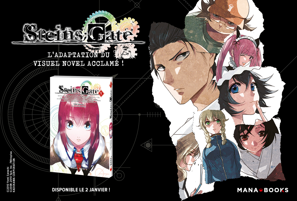 Steins;Gate Annonce