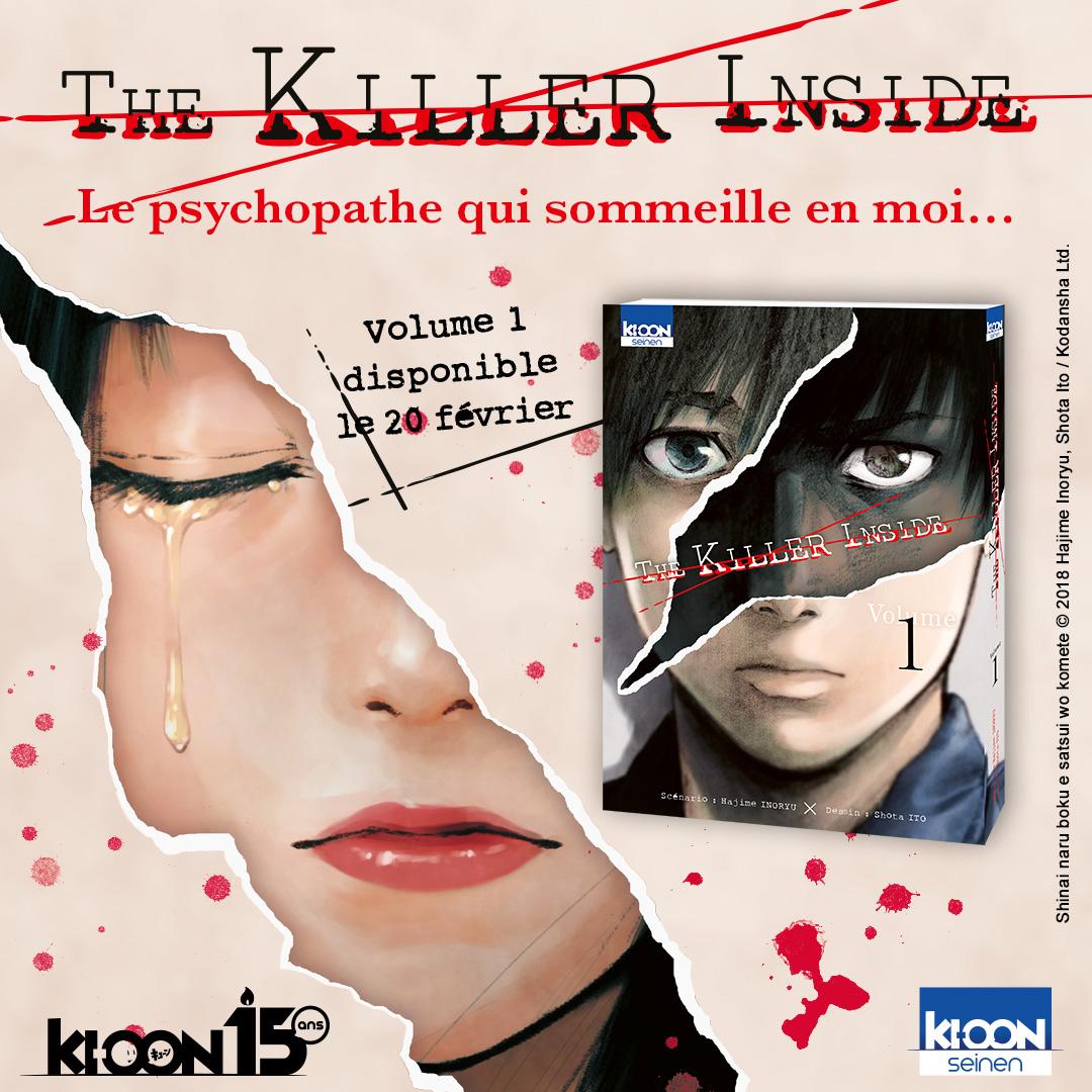 The Killer Inside Annonce