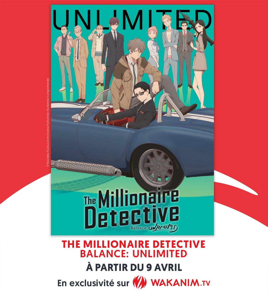 The Millionaire Detective Wakanim