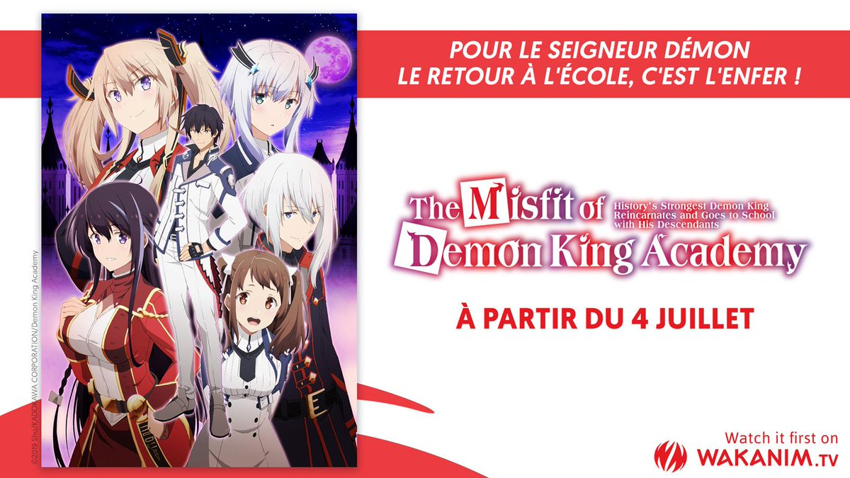 The Misfit of Demon King Academy Simulcast
