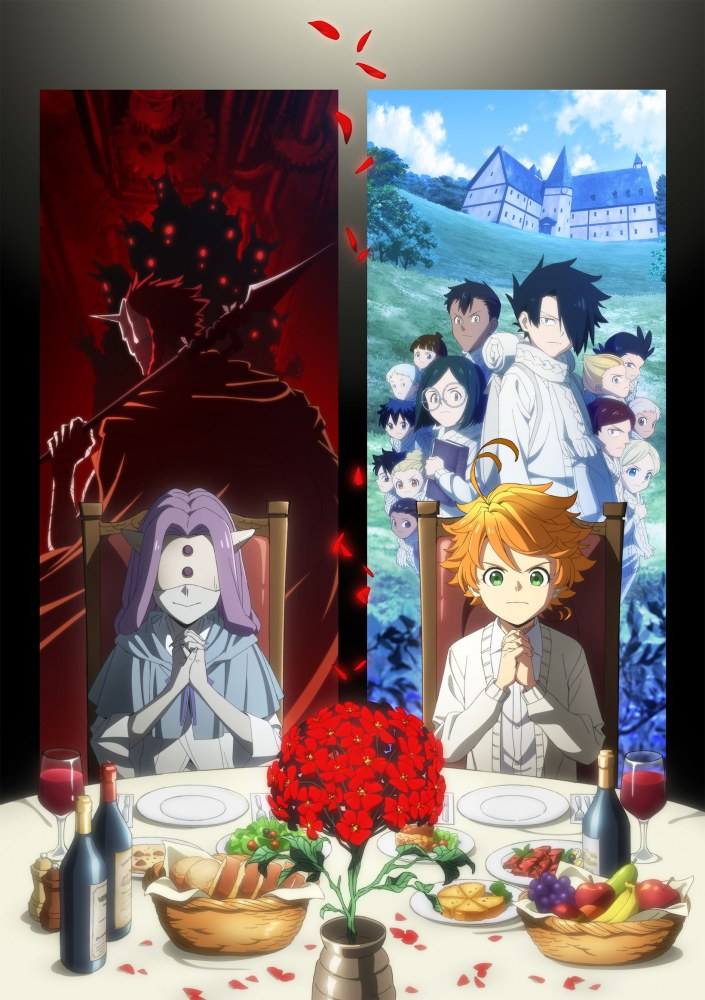 The Promised Neverland S2 Affiche