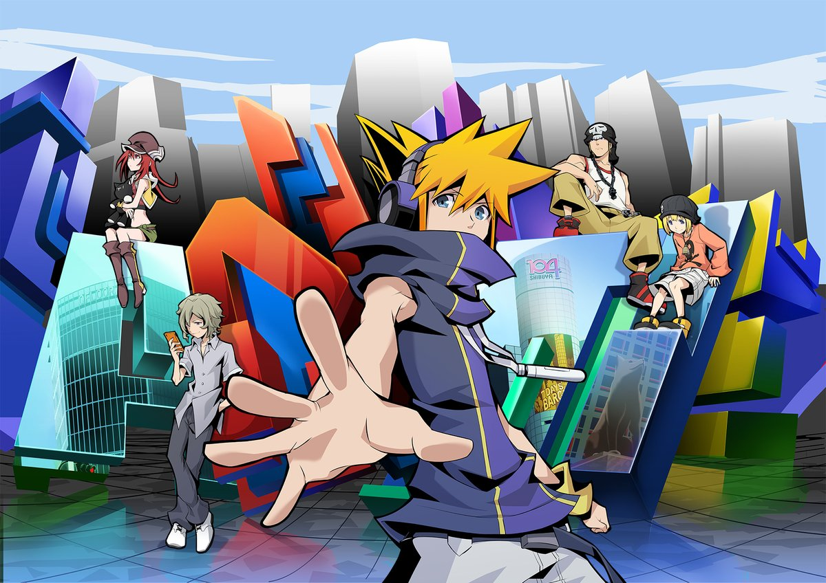 The World Ends With You Visuel