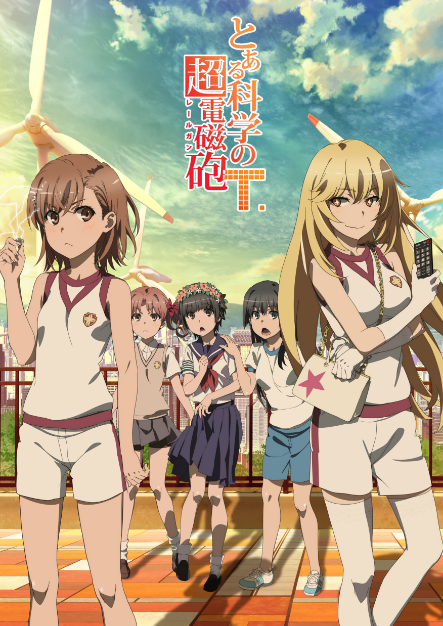 To Aru Kagaku No Railgun S3 Affiche