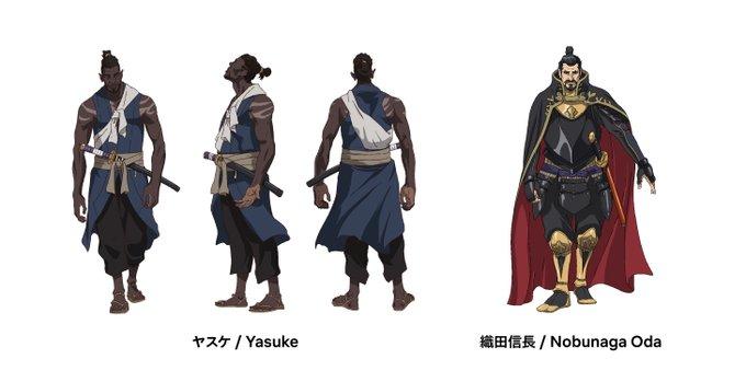 Yasuke Chara-Design