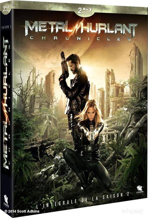 Metal Hurlant S02 - Blu-Ray