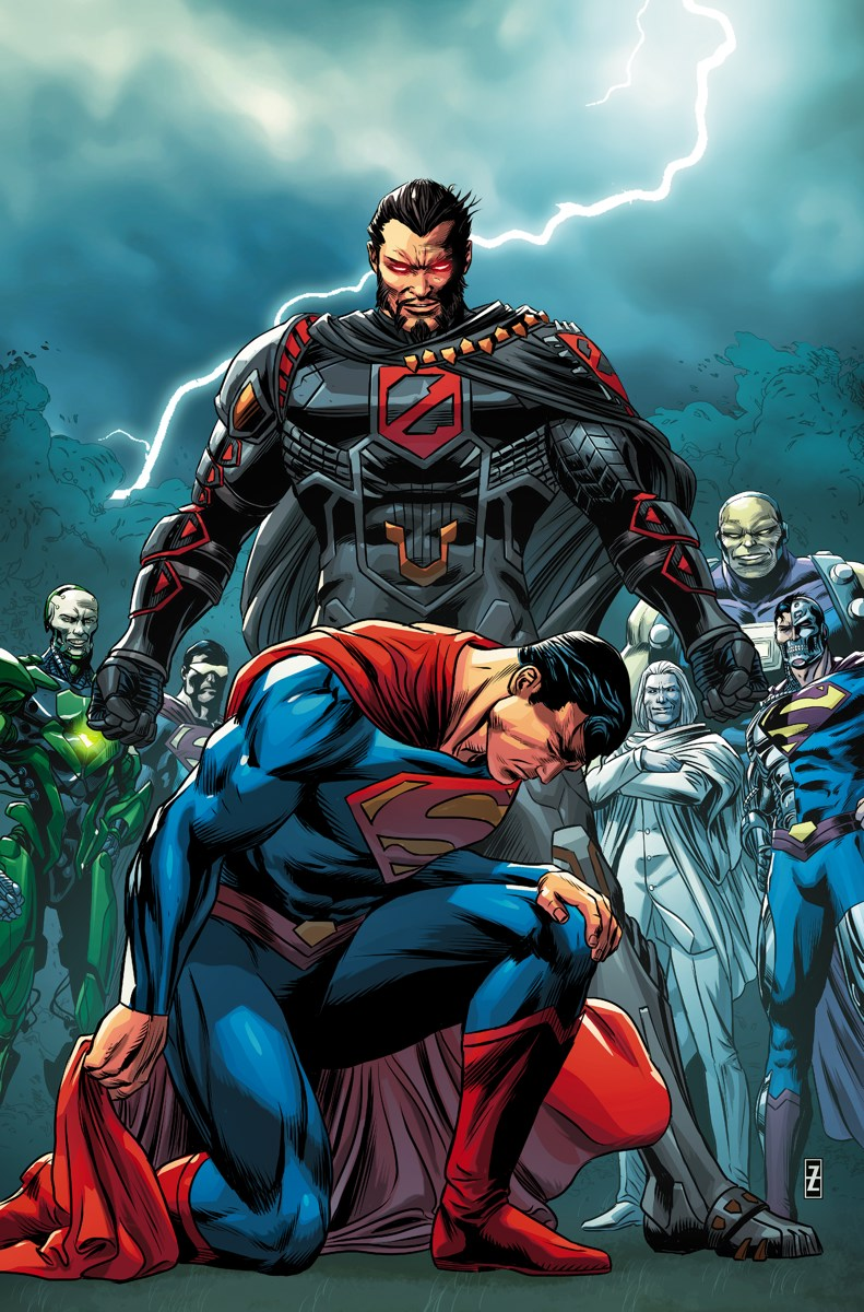 c256dd81f3e47 ACTION COMICS  981. Written by DAN JURGENS • Art by JACK HERBERT • Cover by  PATCH ZIRCHER Variant cover by GARY FRANK Retailers  This issue will ship  with ...