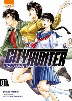 Manga - City Hunter Rebirth