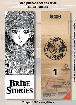 Marque-pages Manga Luxe Bulle en Stock