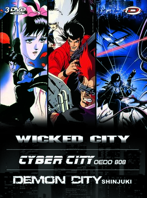 Kawajiri Box : Wicked City - Cyber City - Demon City