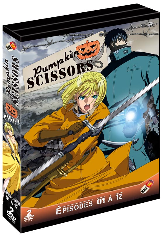 pumpkin scissors vostfr