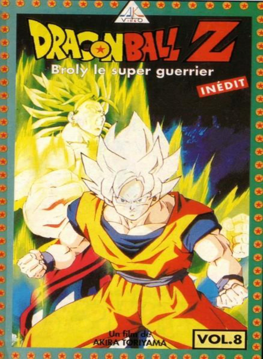 dragon ball z broly le super guerrier vf