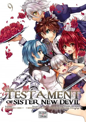 The testament of sister new devil 9