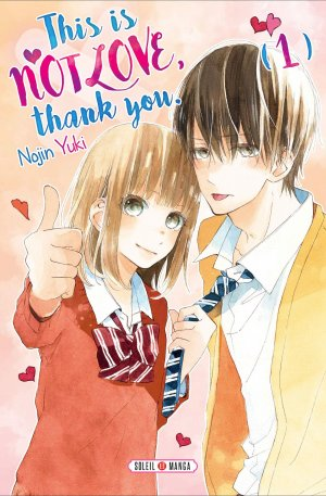 Manga - This is not love, thank you