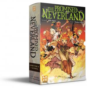 The promised neverland coffret tome 16+gag manga 1