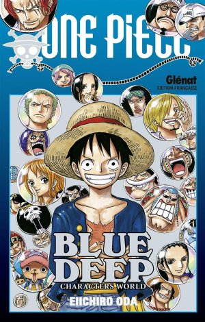 One Piece Blue Deep (Characters World) 1