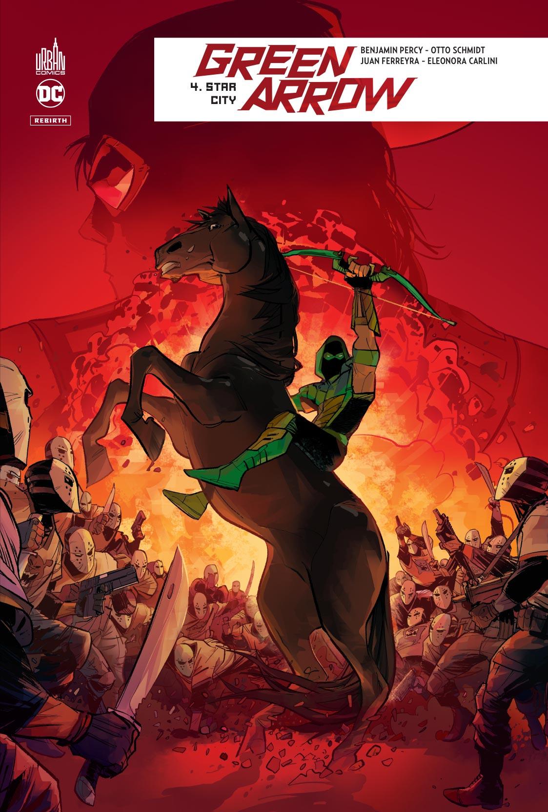 comics dc rebirth green arrow